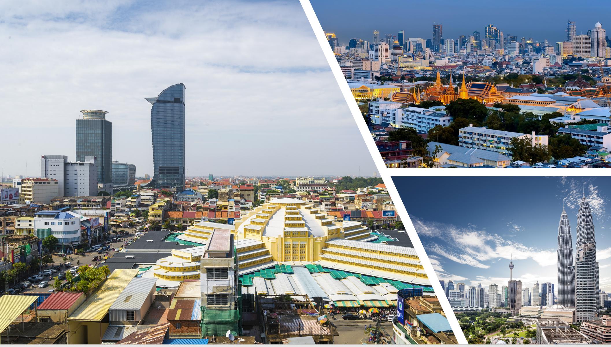 ビヨンドボーダーズの主要投資国タイ・ベトナム・マレーシア
