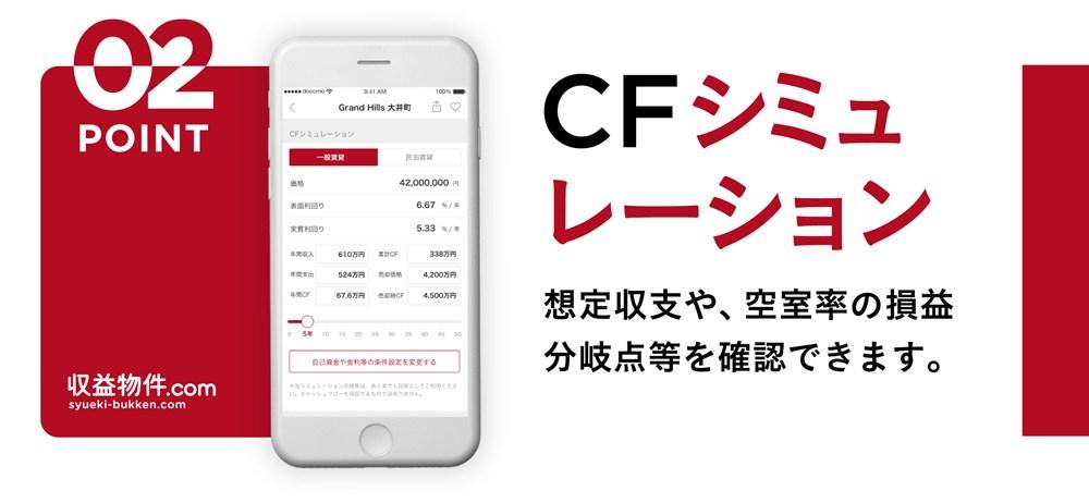 収益物件.com CFシミュレーション