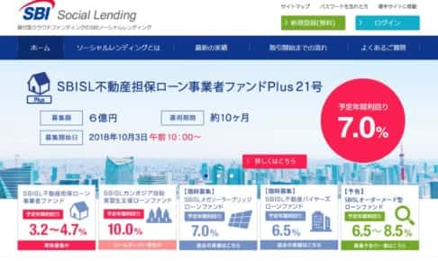 SBISL不動産担保ローン事業者ファンドPlus21号