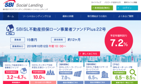 SBISL不動産担保ローン事業者ファンドPlus22号
