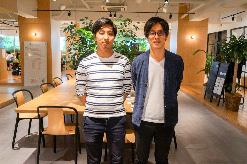 安さんと田上さん