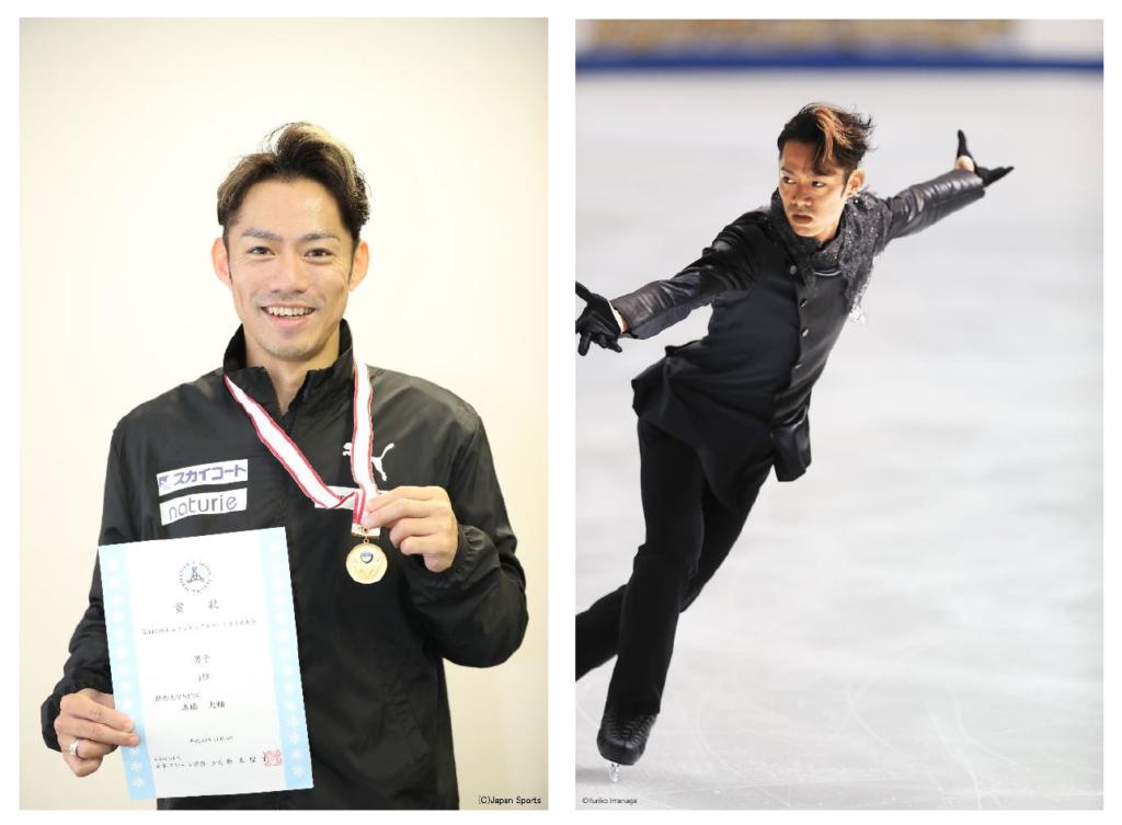 フィギュアスケーターの髙橋大輔選手